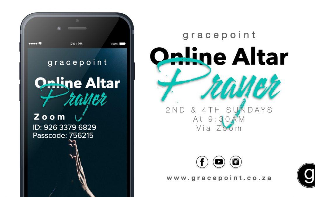 Online Alter Prayer